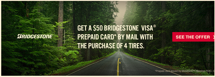 Bridgestone Holiday Savings Promotion