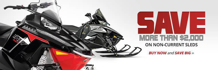 Save more than $2,000 on non-current sleds. Click here to shop.