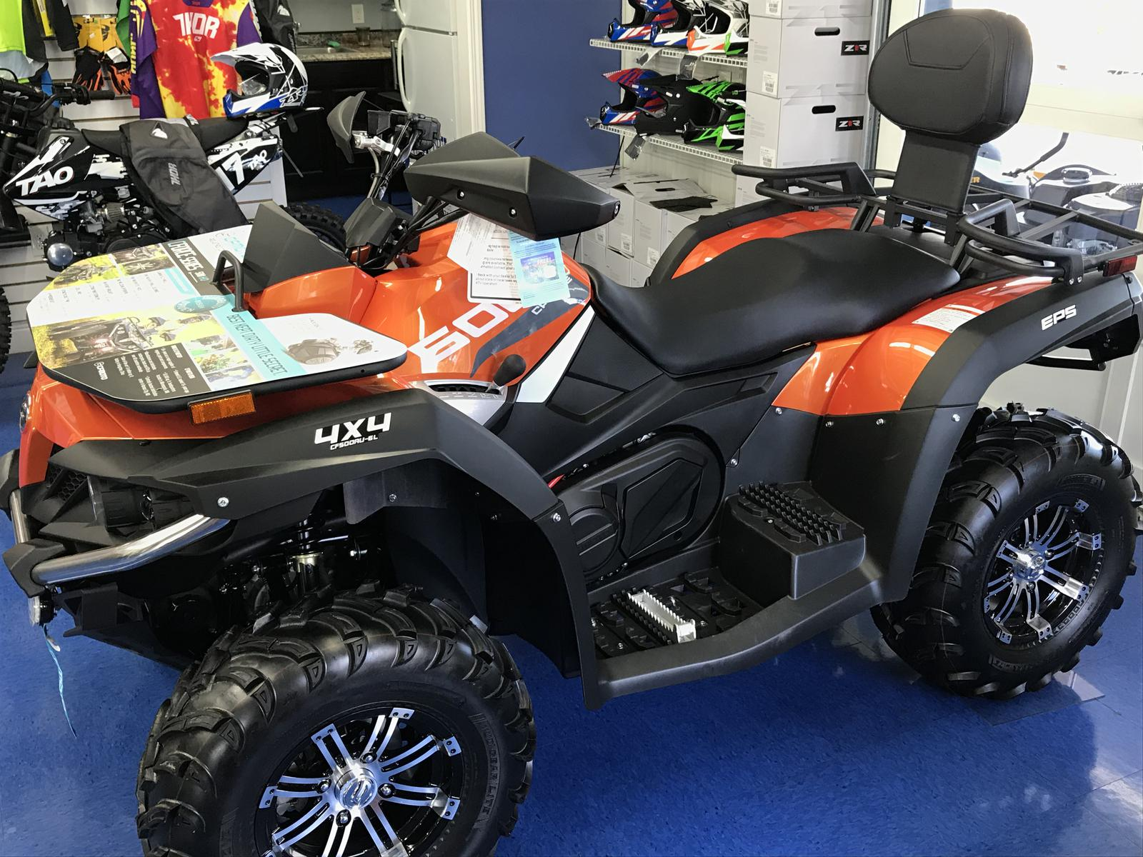 ATV CF MOTO: types, models, features and reviews of owners 87
