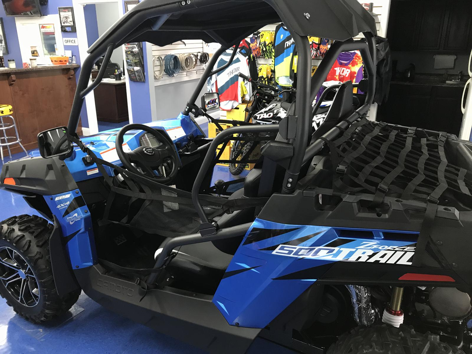 2018 CFMOTO ZFORCE 500 Trail 4X4 Sport SXS FREE WINDSHIELD