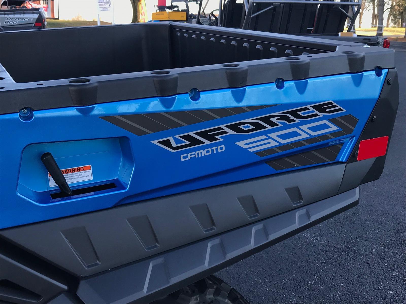 2019 CFMOTO UFORCE 500 HO EPS 4X4 UTV for sale in Greenville