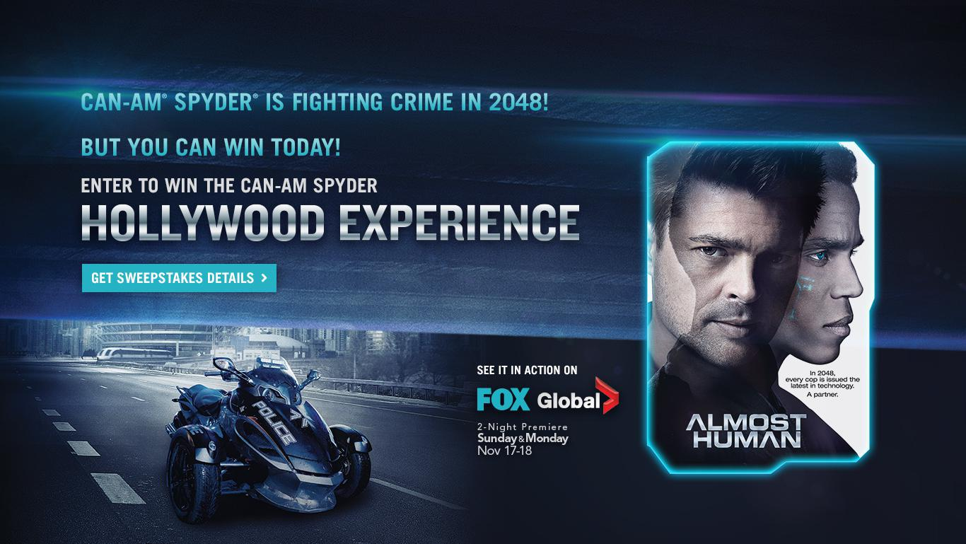 ALMOST HUMAN MOVIE BANNER
