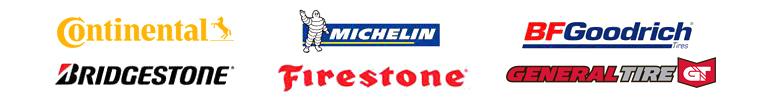 We carry products from Goodyear, Michelin®, BFGoodrich®, Bridgestone, Firestone, and Yokohama!