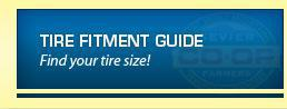 Tire Fitment Guide: Find your tire size!