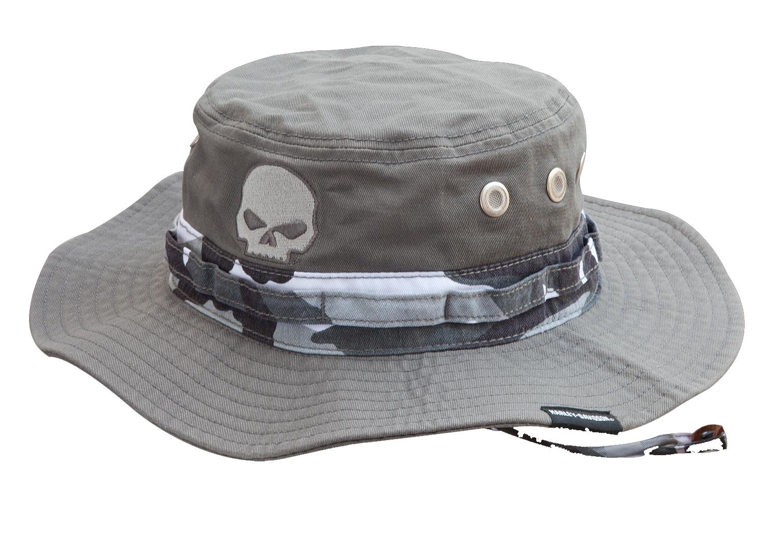 Grey Cotton Boonie Hat with Chincord HD-475 for sale in Clermont eacc5b99912