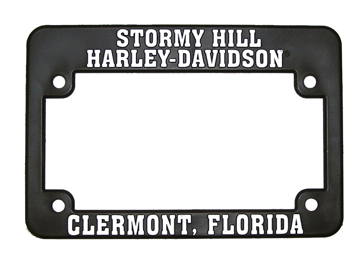 Plastic Motorcycle License Plate Frame- DL6 for sale in Clermont, FL ...