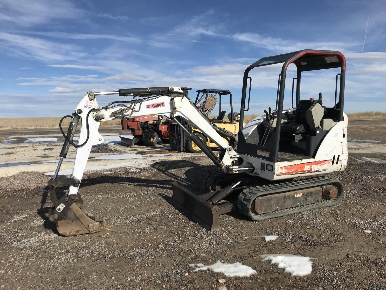 2007 Bobcat 325 Compact Excavator