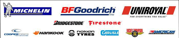 We carry products from Michelin® BFGoodrich®, Uniroyal® Bridgestone, Firestone, Cooper Tires, Hankook, Nokian Tires, Carlisle, and Mickey Thompson. We are an American Car Care Center.