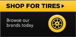 Shop for Tires: Browse our brands today.