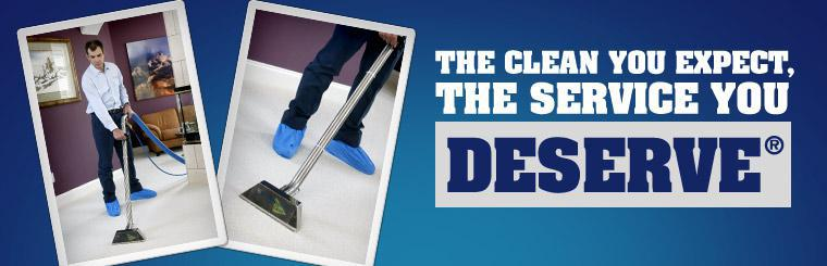 ServiceMaster Clean offers you the clean you expect, the service you deserve®.