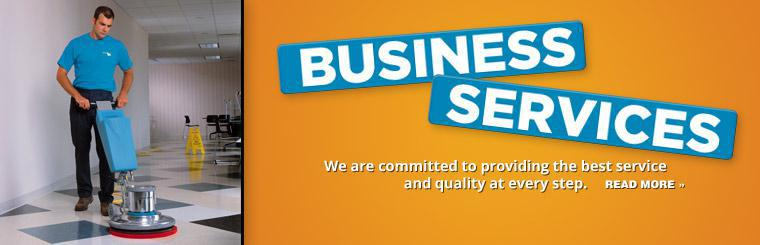 Business Services: We are committed to providing the best service and quality at every step. Click here to read more.