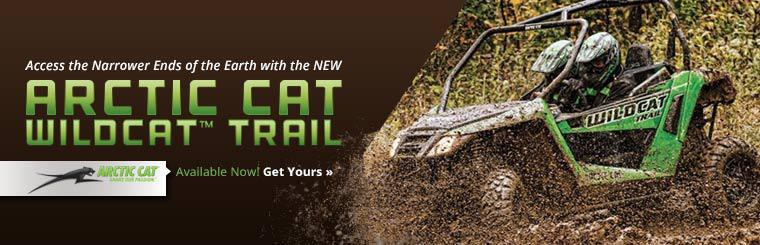 The 2014 Arctic Cat Wildcat™ Trail is available now!