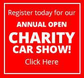 Register today for our annual Open Charity Car Show!