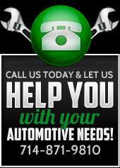 Call us today and let us help you with your automotive needs!