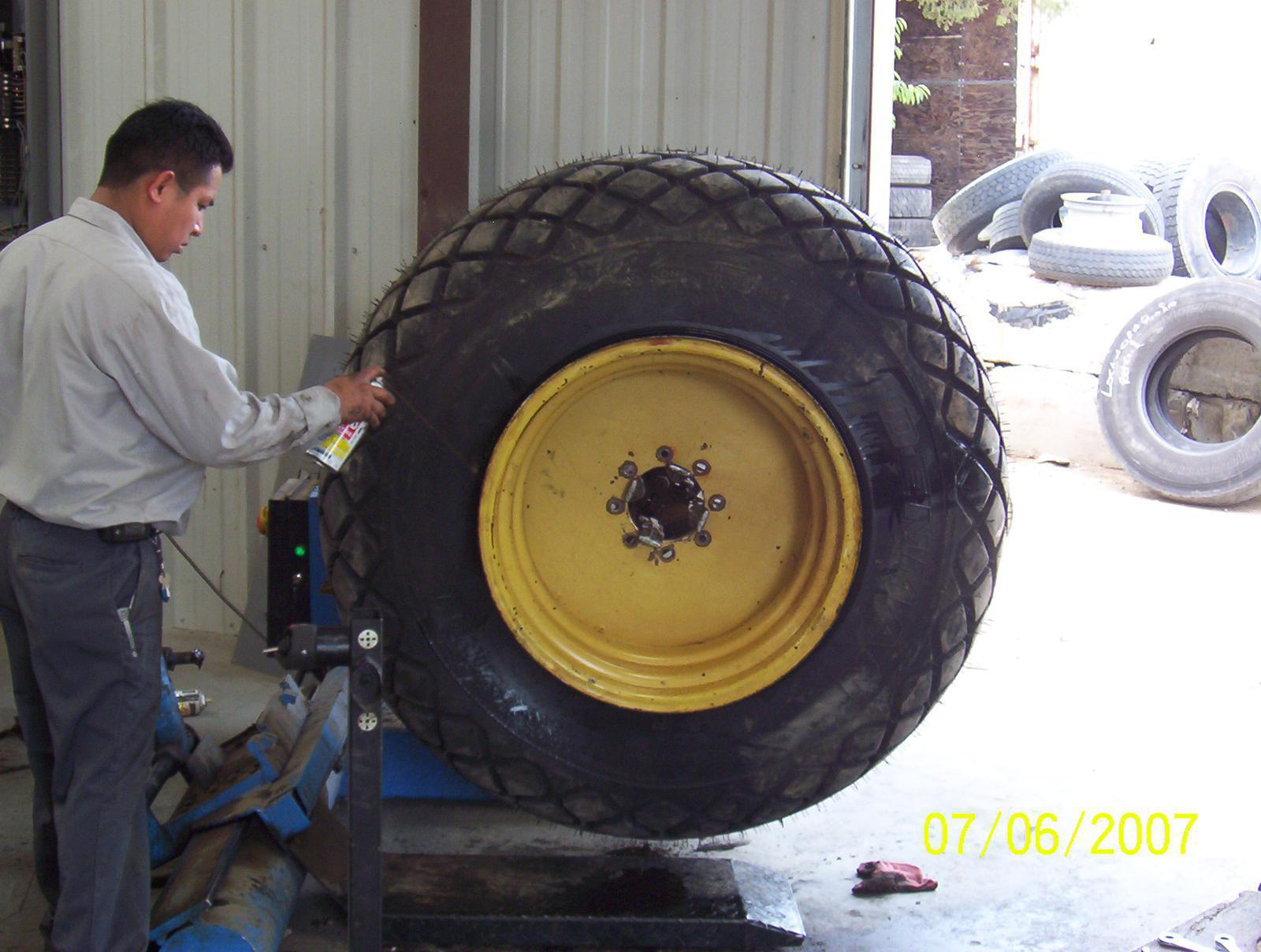 Large Tire Replacement