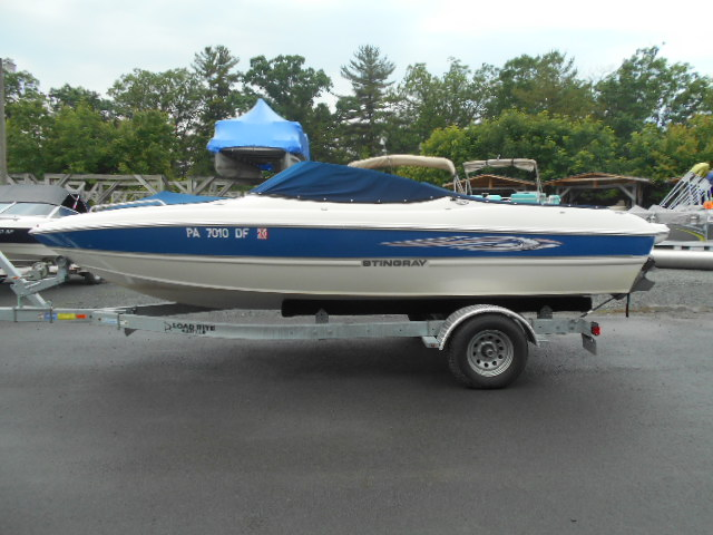 Boats from Bayliner and Stingray Boats Bakker Marine Hawley