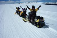 Join us on a snowmobile tour!