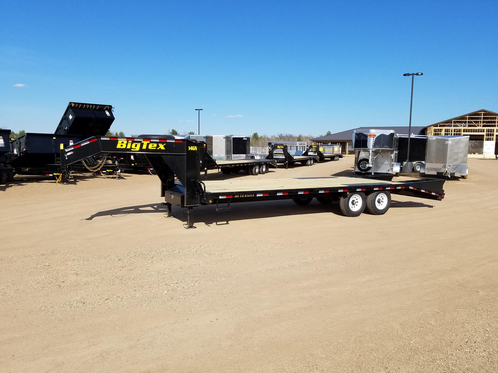 Inventory from Big Tex Trailers and High Country Union