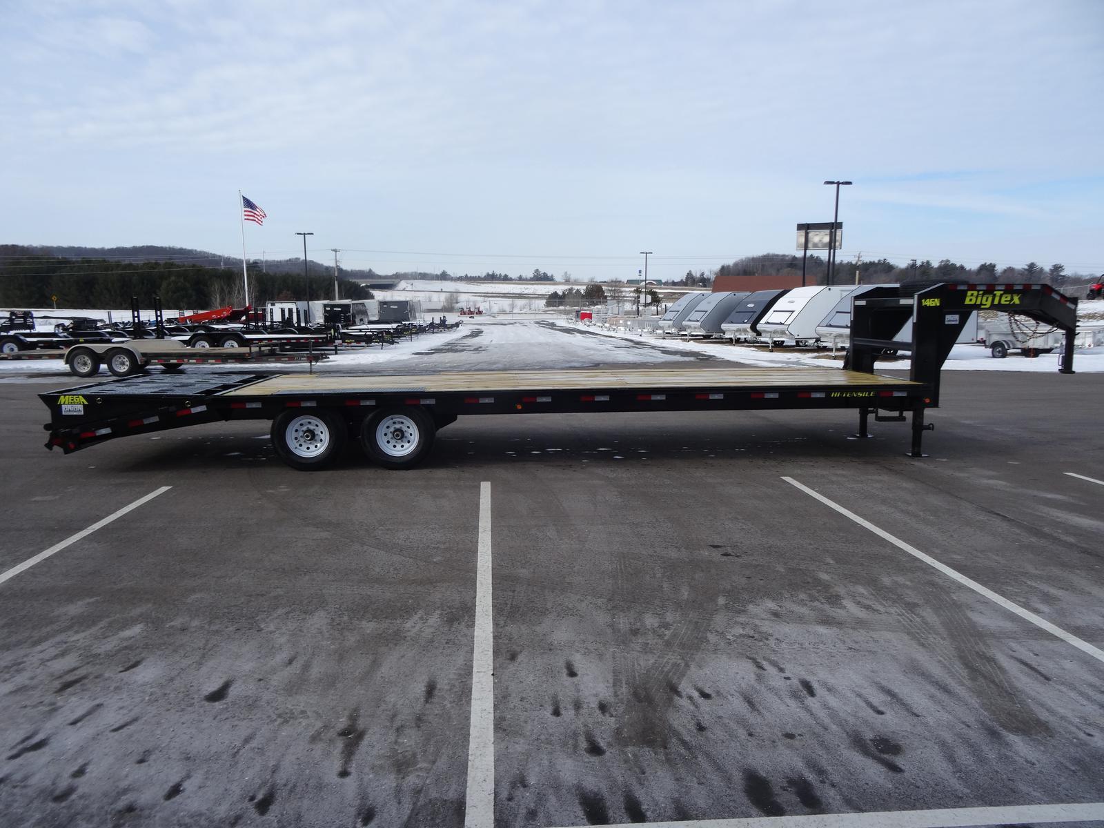 2019 Big Tex Trailers 14gn 102 X 20 5 159k Gooseneck Trailer W Wiring Harness For Dsc01452