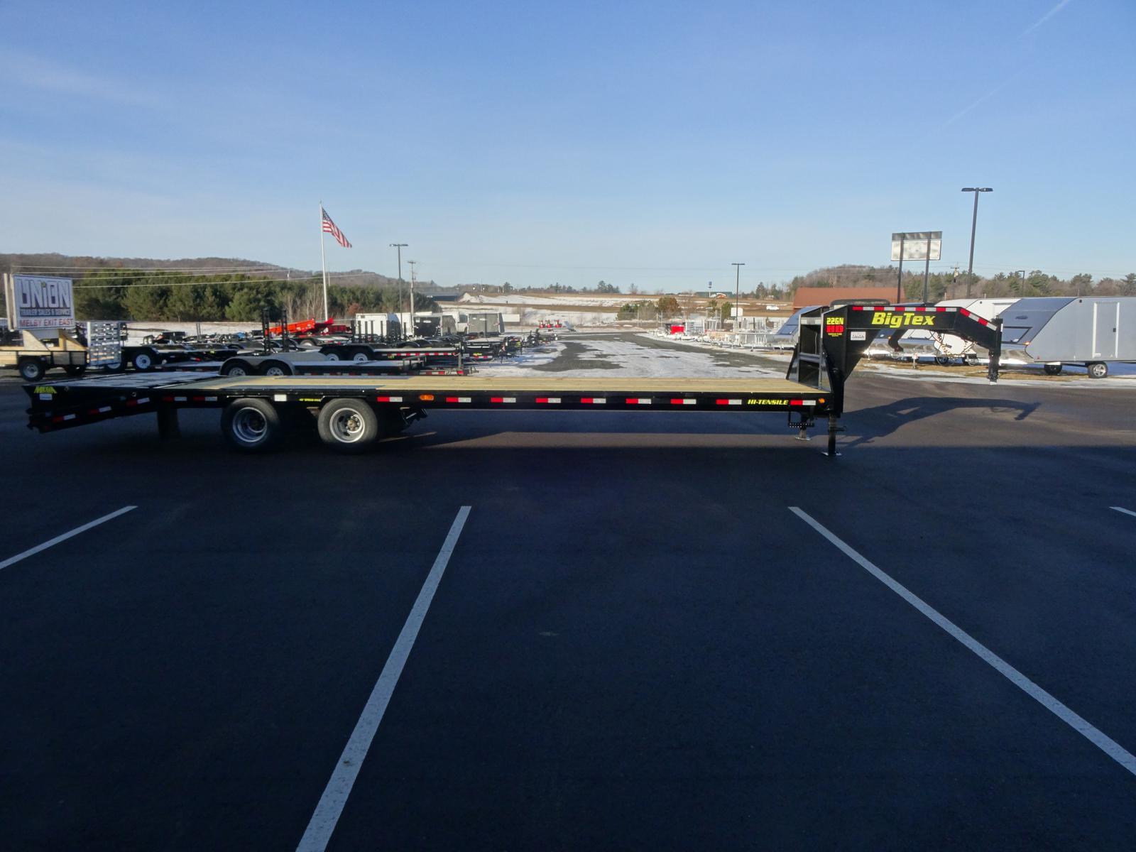 2019 Big Tex Trailers 22gn 102 X 25 5 239k Gooseneck Trailer W Wiring Harness For Dsc01486