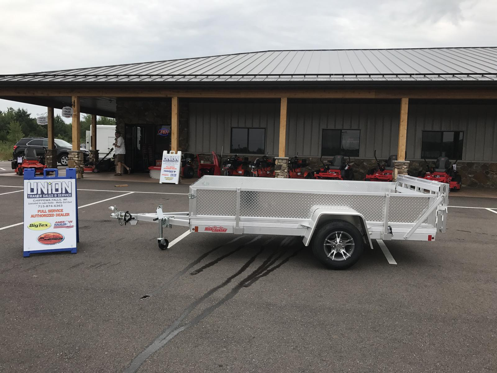 2017 High Country HU5X10A-R Aluminum Utility Trailer for sale in ...