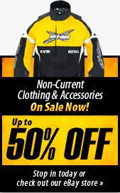 Non-Current Clothing & Accessories on sale now! Up to 50% off! Stop in today or check out our eBay store.