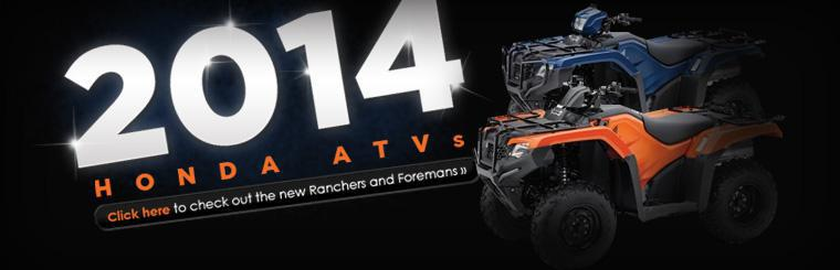 Click here to check out the new Honda Rancher and Foreman ATVs.