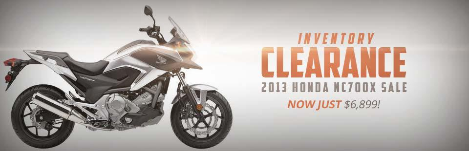 2013 Honda NC700X: Now on sale for just $6,899!