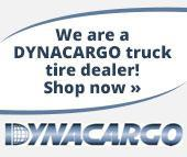 We are a DYNACARGO truck tire dealer! Shop now.