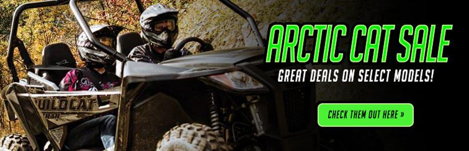 Arctic Cat Sale: Take advantage of great deals on select models!