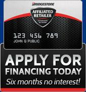 Apply for financing today – Six months no interest!