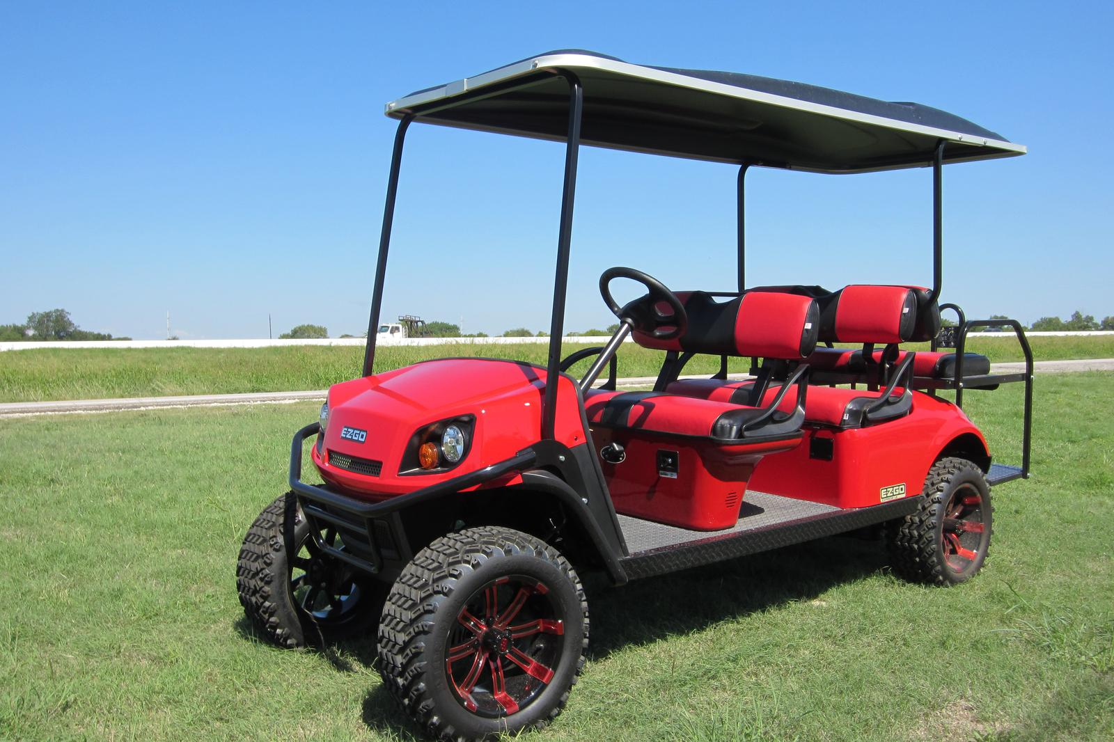 Red Lifted Golf Cart Burgandy on red ezgo golf cart, red dot enclosures golf cart, lifted ezgo golf cart, car wheels on lifted golf cart, red custom golf cart, red chevy golf cart, super lifted golf cart, red golf cart illustration, lifted yamaha golf cart, red jack up golf carts,