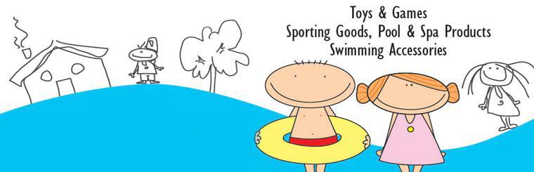 Anglo Dutch Pools and Toys carries toys and games, sporting goods, pool and spa products, and swimming accessories!