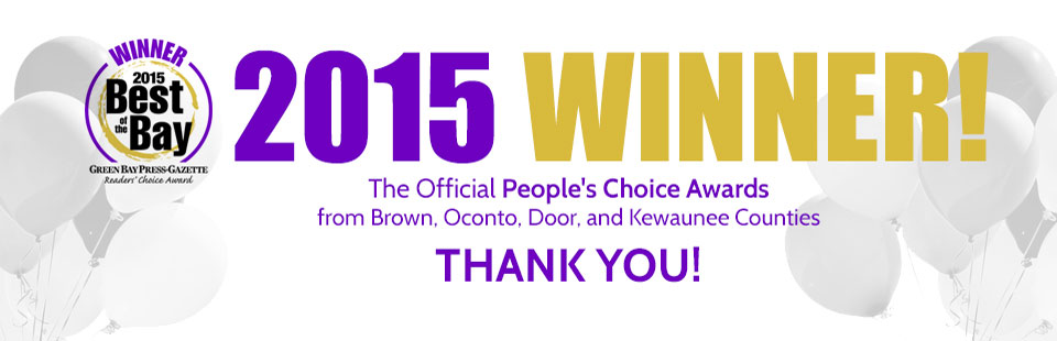 Pool Works: 2015 Winner of the Official People's Choice Awards from Brown, Oconto, Door, and Kewaunee Counties