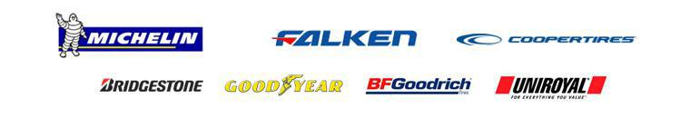 We carry products from Michelin®, Falken, Cooper Tires. Bridgestone, Goodyear, BFGoodrich®, and Uniroyal®.