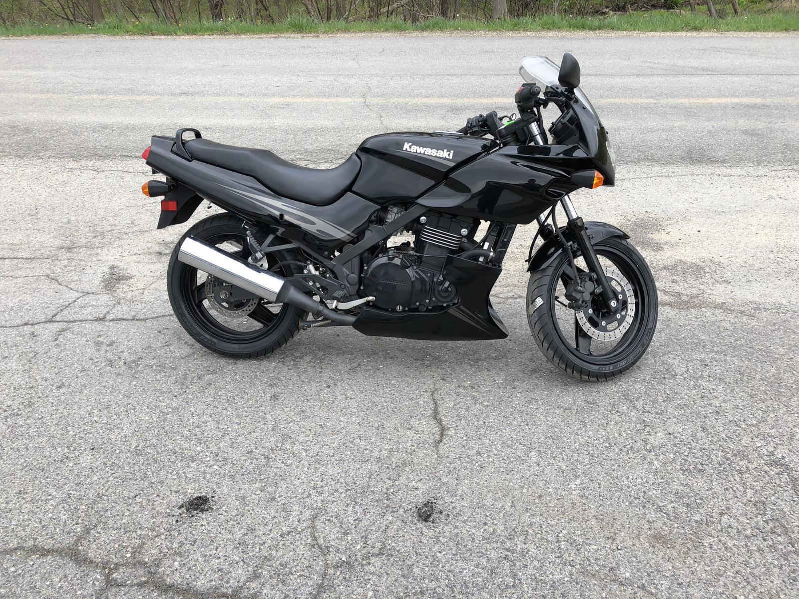 2009 kawasaki ninja 500r for sale in seneca, pa. world of wheels