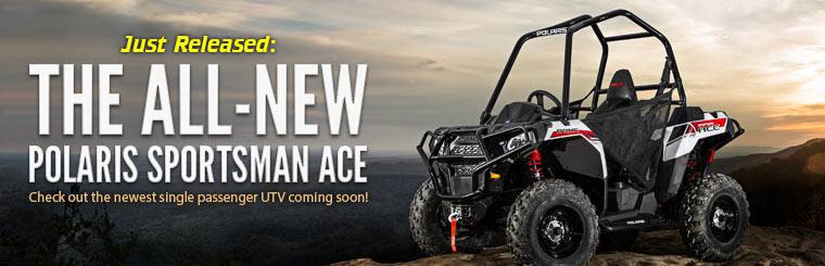 The All-New Polaris Sportsman ACE: Click here to contact us for details.