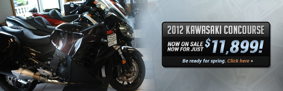 2012 Kawasaki Concourse: Now on sale now for just $11,899!