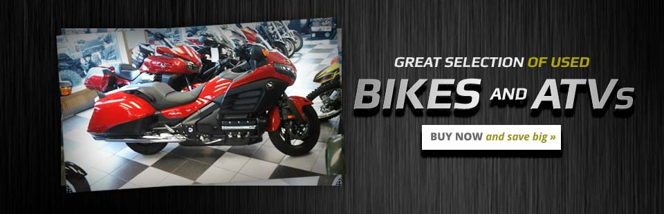 Great Selection of Used Bikes and ATVs: Buy now and save big!