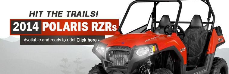 The 2014 Polaris RZRs are available and ready to ride!