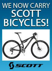 We now carry Scott Bicycles!