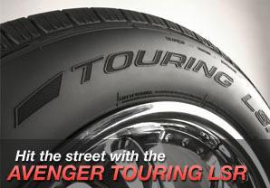 Hit the street with the Avenger Touring LSR.