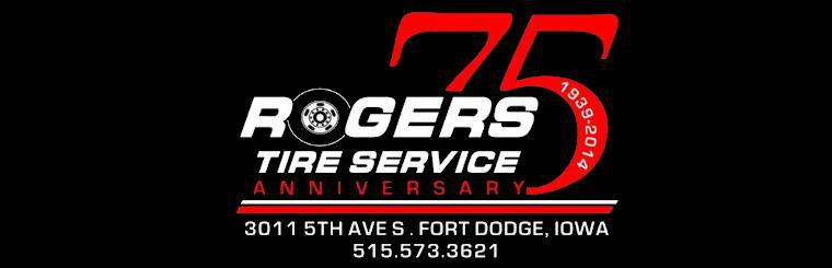 Rogers Tire Service 75th Anniversary