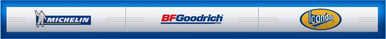 We carry tires from Michelin® and BFGoodrich®. We use Bandag retreading products.