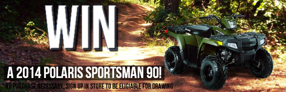 2014 Polaris Sportsman Give Away!