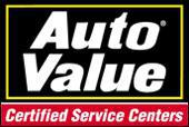 Auto Value. Certified Service Centers.