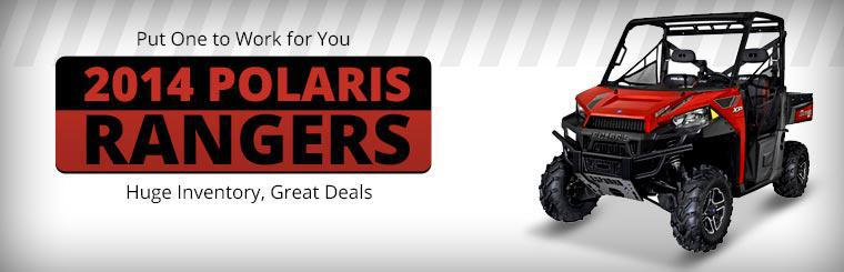 Click here to view the 2014 Polaris Rangers.