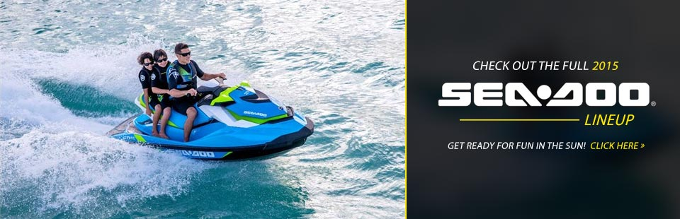 Click here to check out the 2015 Sea-Doo lineup!
