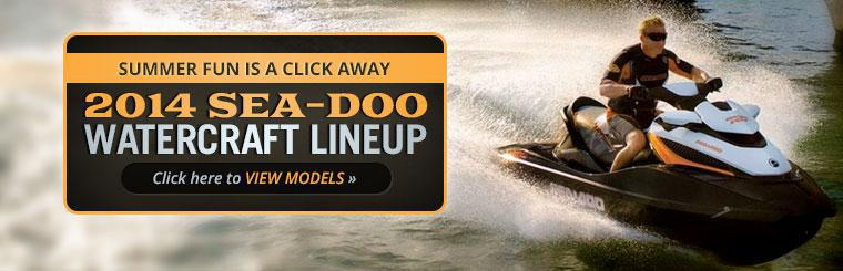 View the 2014 Sea-Doo watercraft lineup.