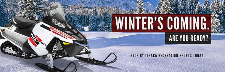 Are you ready for winter? Click here to view our snowmobile selection.